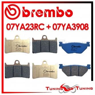 Pastiglie Freno Anteriore E Posteriore Brembo YAMAHA FJR 1300 2001 2002 07YA23RC + 07YA3908