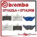 Pastiglie Freno Anteriore E Posteriore Brembo YAMAHA FJR 1300 2001 2002 07YA23LA + 07YA3908