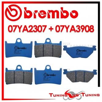 Pastiglie Freno Anteriore E Posteriore Brembo YAMAHA TDM 900 ABS 2005 2006 07YA2307 + 07YA3908
