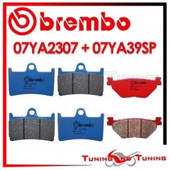 Pastiglie Freno Anteriore E Posteriore Brembo YAMAHA XV MIDNIGHT STAR 1900 2012 07YA2307 + 07YA39SP