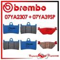 Pastiglie Freno Anteriore E Posteriore Brembo YAMAHA FJR 1300 2001 2002 07YA2307 + 07YA39SP