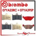 Pastiglie Freno Anteriore E Posteriore Brembo YAMAHA FJR 1300 2001 2002 2003 2004 07YA23RC + 07YA39SP