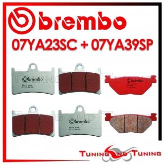 Pastiglie Freno Anteriore E Posteriore Brembo YAMAHA TDM 900 ABS 2005 2006 07YA23SC + 07YA39SP