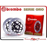 Dischi Freno Anteriore Brembo DUCATI MULTISTRADA 1200 TOURING ABS 2010 2011 2012 2013 2014 78B40878