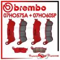 Pastiglie Freno Anteriore E Posteriore Brembo HONDA CROSSTOURER 1200 2012 2013 07HO57SA + 07HO60SP