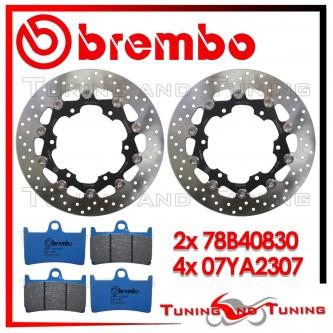 Dischi E Pastiglie Freno Anteriore Brembo YAMAHA TDM 900 ABS 2002 2003 78B40830 + 07YA2307