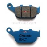 Pastiglie Freni Transalp 700 dal 2008 al 2011. Pastiglie freno posteriore Brembo Carbon-Ceramic